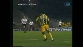 FC Nantes - AGF, 0-1  (UEFA Cup, 30-09-1997)