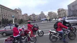 На мотоциклах - в Новый Год