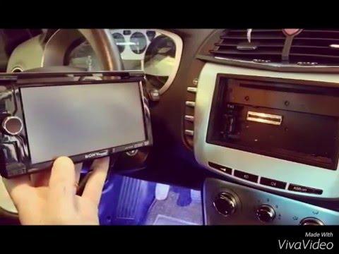 Lancia Delta Multimediale 2din Impianto Luci Led Di Cortesia Youtube