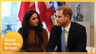 Heated Clash Over Whether Prince Harry and Meghan Are Destroying Their Right to Privacy | GMB