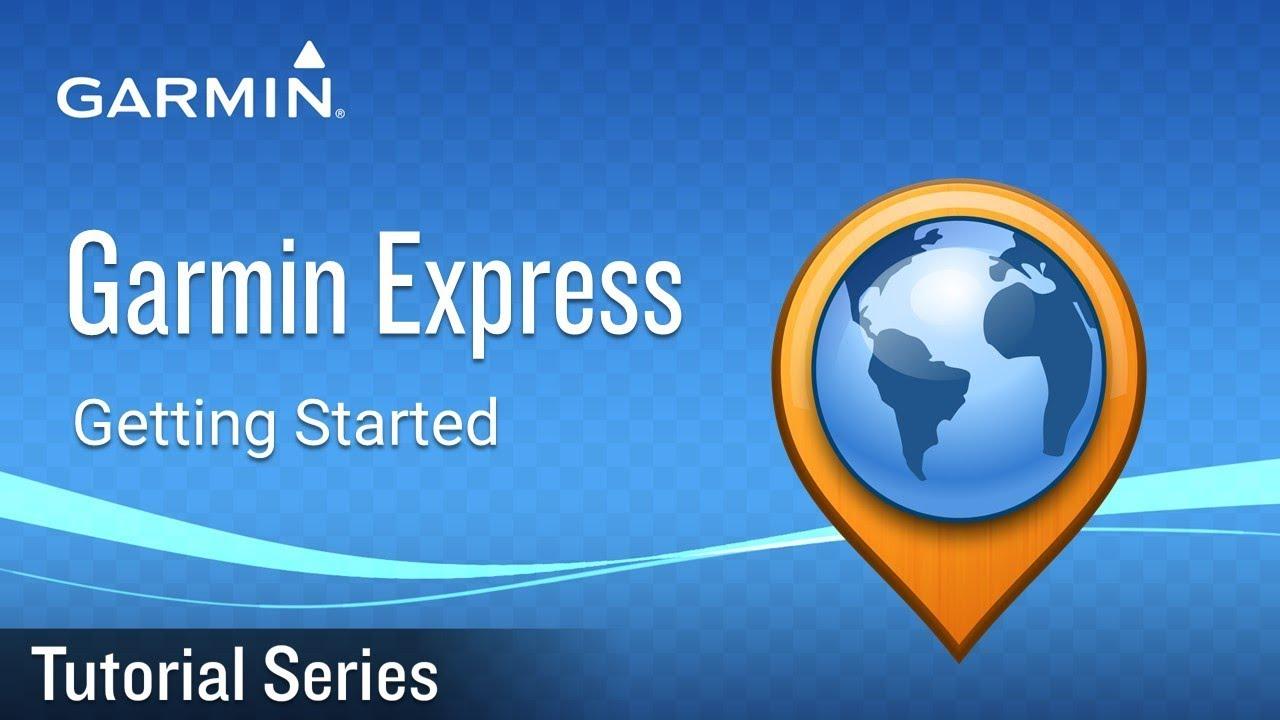 Tutorial - Garmin Express: Getting Started