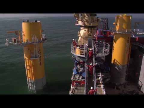 Jumbo Offshore: The Greater Gabbard Project - Transition Piece transportation and installation