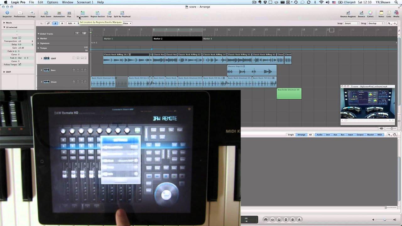 Daw Remote Hd Quick Start Video Help Image