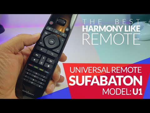 The Best Universal Harmony Like Remote - Sofabaton U1 - Unboxing And  Review