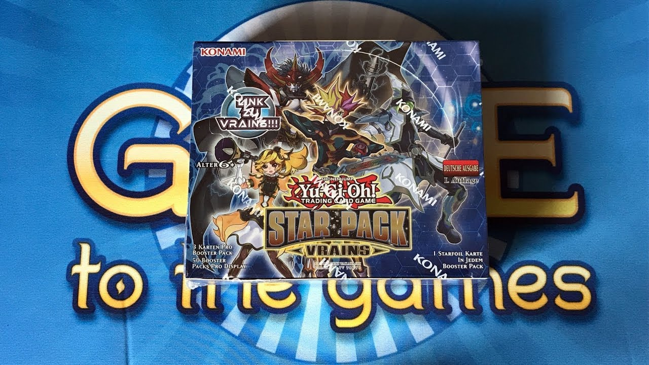 Star Pack VRAINS Display Box Opening/Unboxing Yugioh Karten - YouTube