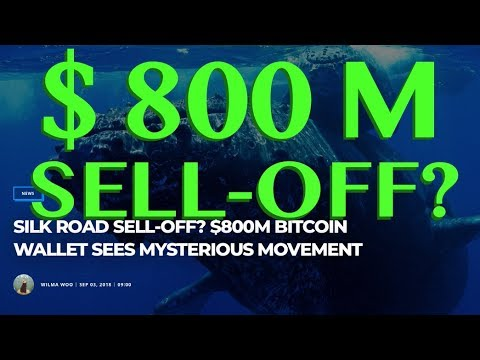 $800M BITCOIN SELL-OFF? - SILK ROAD WALLET SEES MYSTERIOUS MOVEMENT
