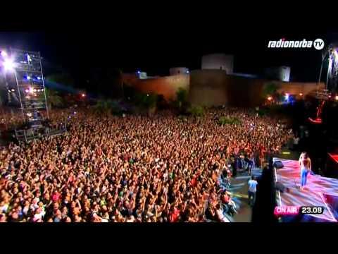 Anna Tatangelo - Radionorba Battiti Live 2012 - Manfredonia