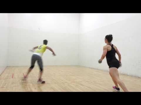 Jake Plummer Family Handball Bash & R48Pro Stop - Ulbert vs Davis - Semis