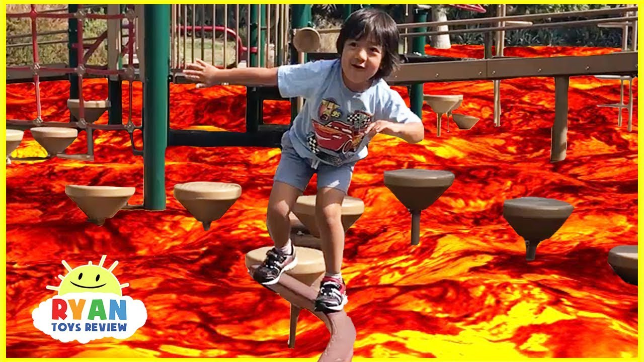 The Floor Is Lava Challenge Family Fun Kids Pretend