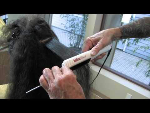 Smooth coarse hair in one pass!