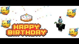 ITS MY BIRTHDAY!!!!| ROBLOX