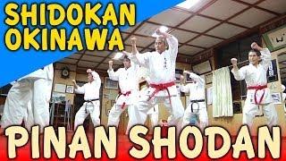 PINAN SHODAN - OKINAWA SHIDOKAN shorin ryu