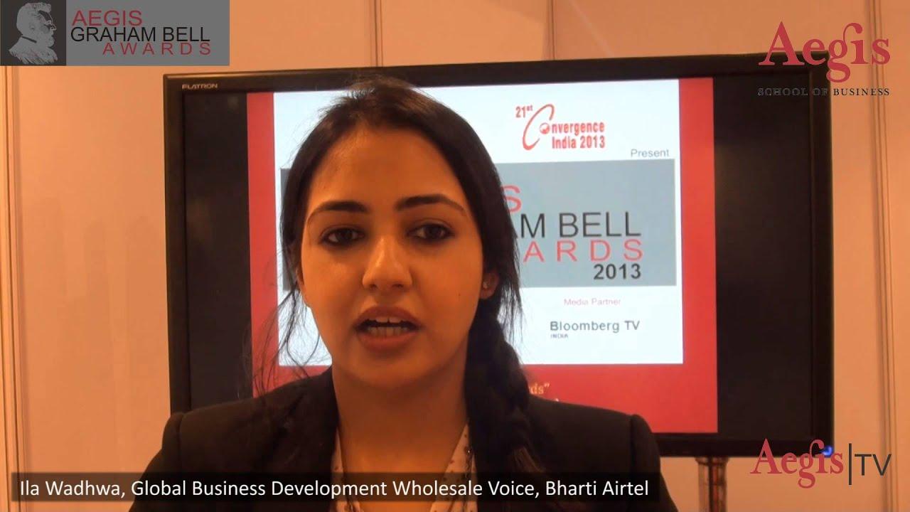 Ila Wadhwa, Bharti Airtel at 1st Jury Round of Aegis ...