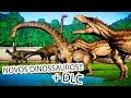 CARCHARODONTOSSAURO, IGUANODONTE e DREADNOUGHTUS (NOVOS DINOSSAUROS) Jurassic World Evolution  PT/BR