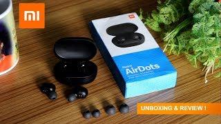 Xaiomi Redmi AirDots - Cheap & Best True Bluetooth Earbuds @ 30 USD Only
