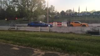Mustang vs 2016 camaro