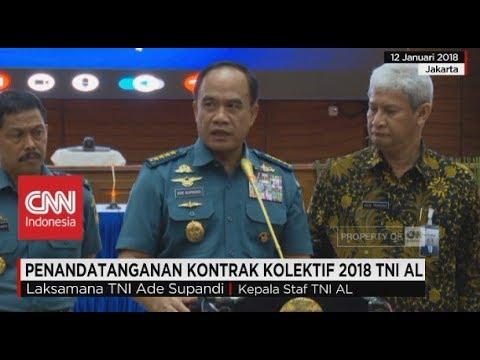 Penandatanganan Kontrak Kolektif 2018 TNI AL