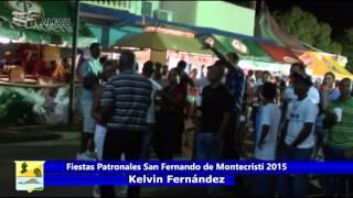 Fiestas Patronales San Fernando de montecristi 2015    Kelvin Fernandez