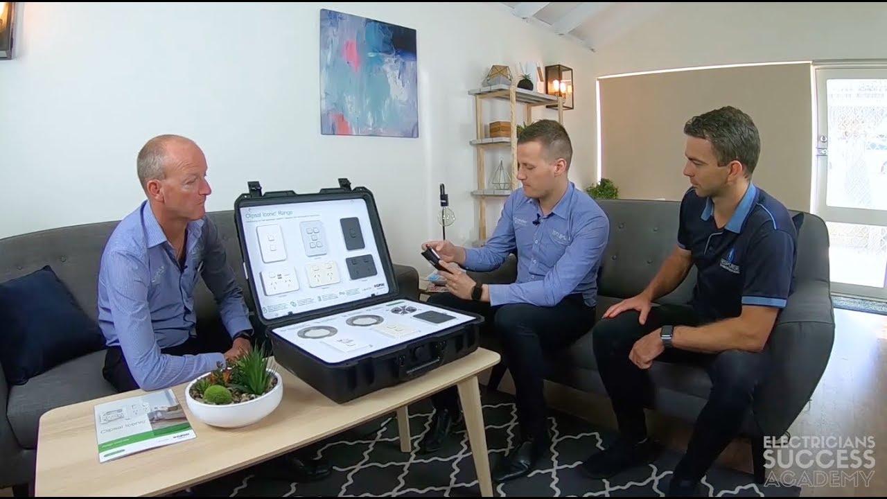 Clipsal Iconic Bluetooth Range Explained Youtube Pdl 2 Way Switch Wiring