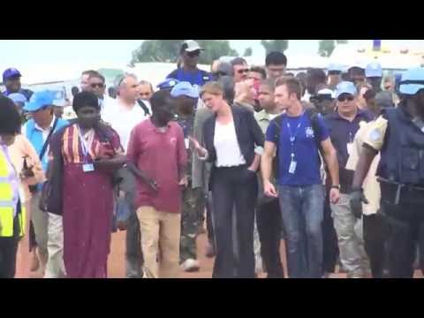 UN Security Council delegation visits Wau