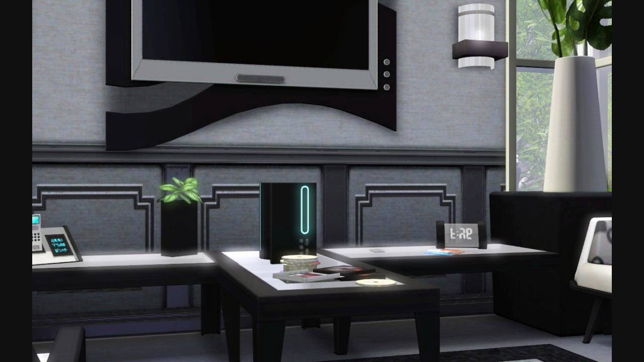 Bstones94 the ultra modern art deco mountain home sims 3 house design youtube