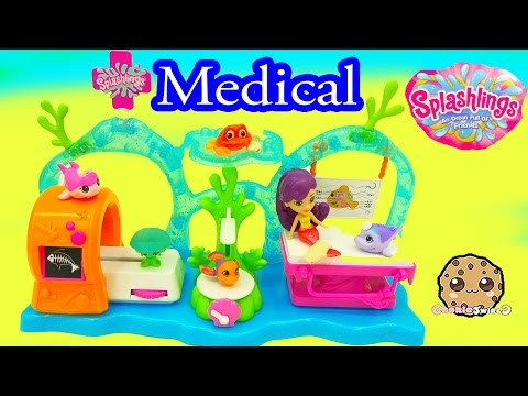 Splashlings Medical Center Doctor & Nurse Exclusives + 6 Pack with Surprise Shell - Cookieswirlc