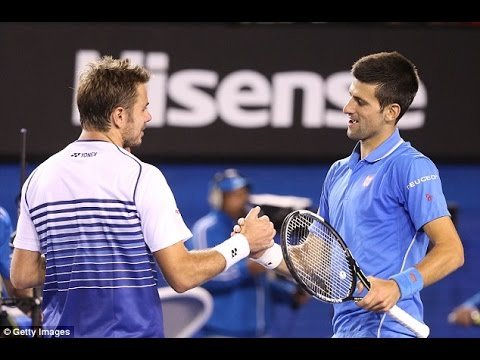 Novak Djokovic VS Stan Wawrinka Highlight 2015 AO SF