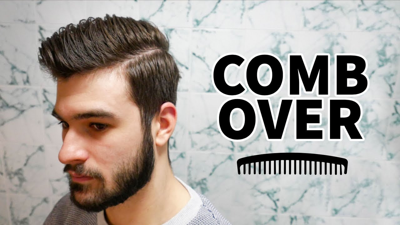 Modern Comb Over Hairstyle - Men\'s Hairstyles 2019