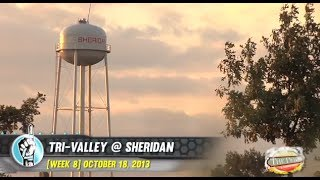 HS Football: Tri-Valley at Sheridan (10/18/13)