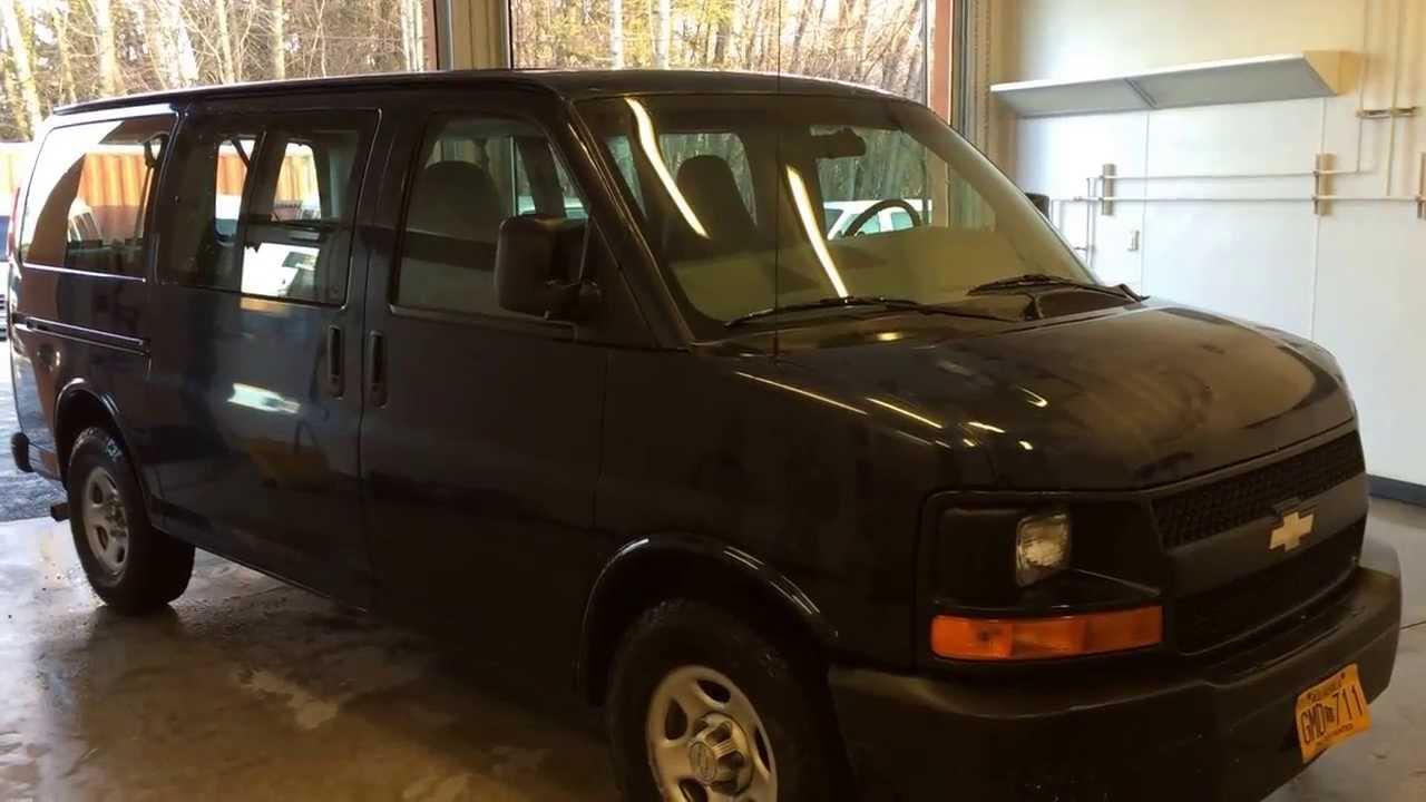 Chevy Express 8 Passenger Van - YouTube