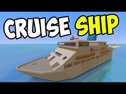 "UNTURNED - ""Luxury Cruise Ship!!"" Episode 75 (Unturned Role-play Hawaii Playthrough)"