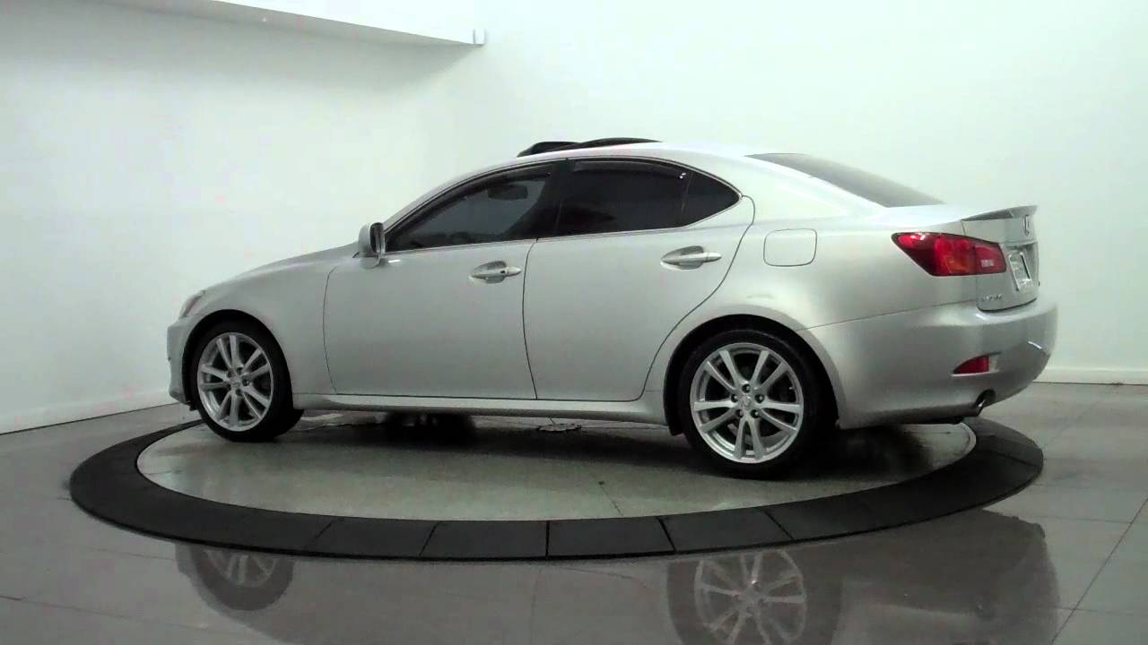 2006 lexus is250 sport sedan