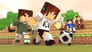 The Sims Craft Ep.123 - Futebol Com A Gelera da Vila  !!