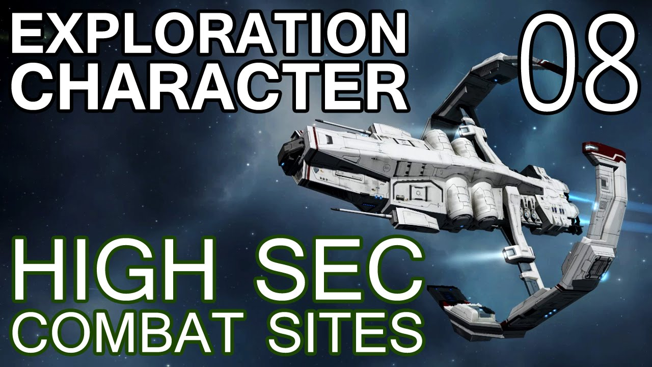 Exploration Character 08 - High Sec Combat Sites w/ Astero (EVE Online)