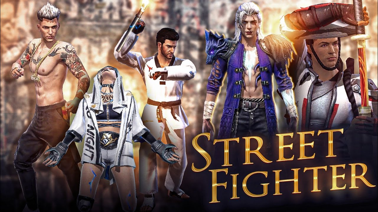 STREET FIGHTER    REAL HERO    FREE FIRE SHORT STORY    GARENA FREE FIRE