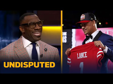 49ers drafting Trey Lance is better than Mac Jones to Patriots — Shannon Sharpe | NFL | UNDISPUTED