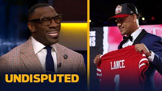 49ers drafting Trey Lance is better than Mac Jones to Patriots - Shannon Sharpe | NFL | UNDISPUTED