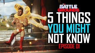 WWE 2K Battlegrounds: 5 Things You Might Not Know #1 (Hidden Moves, DELETED Image \u0026 More)