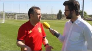 """José Antonio Luque, """"Creo mucho en los 23 y espero una final España-Alemania"""""""