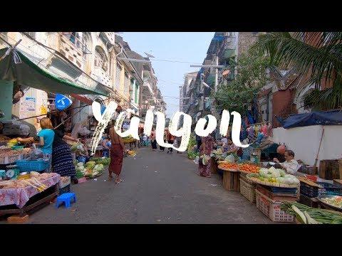 Discovering Yangon