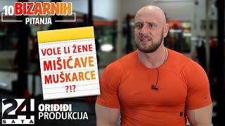 Stjepan Ursa otkrio jesu li bodybuilderi glupi | 10 BIZARNIH PITANJA