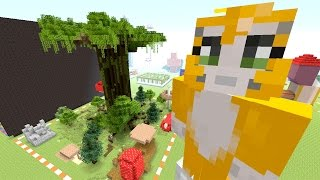 Minecraft: Xbox - Mega Building Time - Enchanted Forest {55}