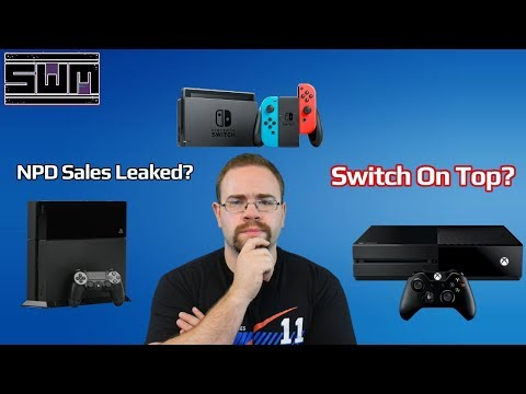 News Wave! - Nintendo Switch Tops Sales Charts In July According To Leaked NPD Numbers