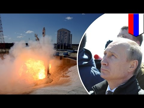 Putin threatens to jail spaceport workers after failed launch at Vostochny cosmodrome - TomoNews