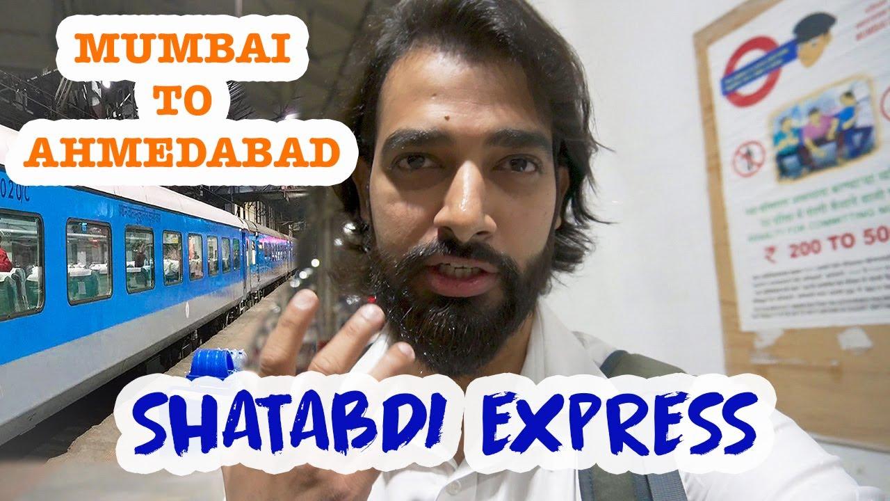 Download SHATABDI EXPRESS 🚂12009 KI EXECUTIVE CLASS | MUMBAI TO AHMEDABAD SUPER FAST | NILESSH FAGNIAA