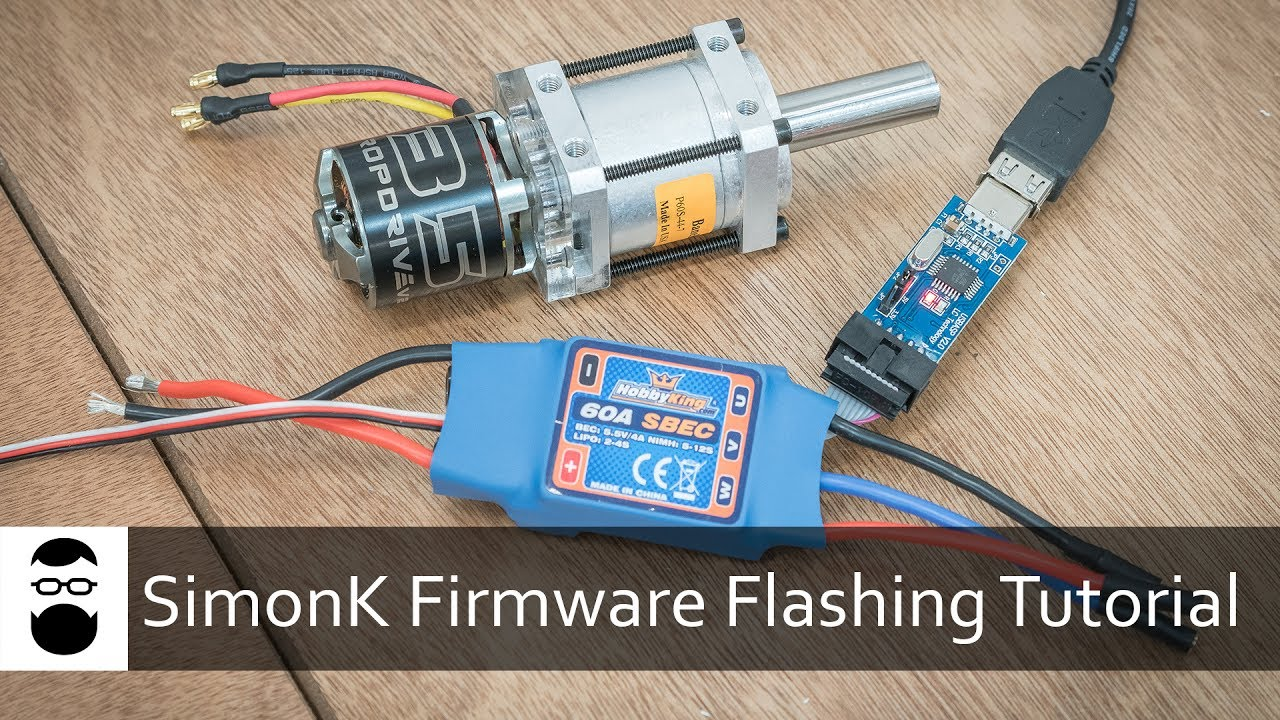 SimonK Firmware Flashing Tutorial (Brushless Drive)