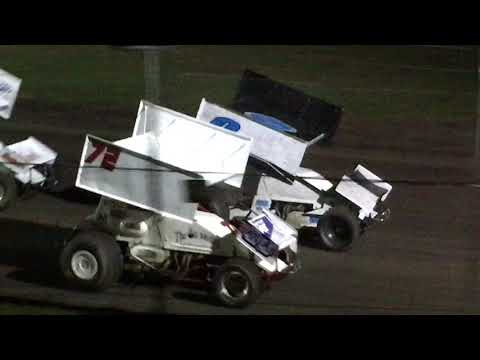 Sprint Car Bandits - Heat 2 of 3 - Superbowl Speedway 03/31/18