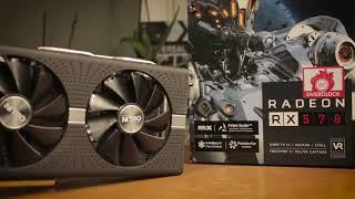 SAPPHIRE RADEON RX 570 NITRO+ 8GB - Solidny zawodnik - TEST!