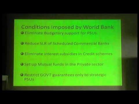 Sivakumar Duraipandy - World Bank Aggreements with India - 26th Feb New Delhi