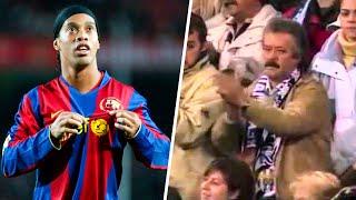 El día que el Bernabéu ovacionó a Ronaldinho.